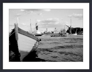 Finish line, Greenwich by Niki Gorick