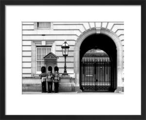 Guard change, Buckingham Palace by Niki Gorick