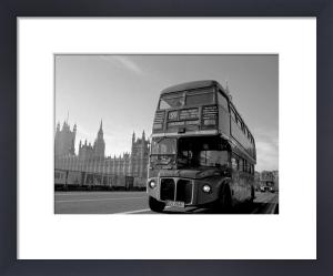 Routemaster bus farewell, Westminster Bridge by Niki Gorick