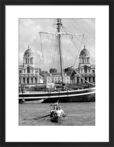 The Great Boat Race, Greenwich by Niki Gorick