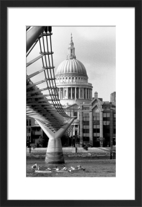 Boating past St. Paul's Cathedral by Niki Gorick