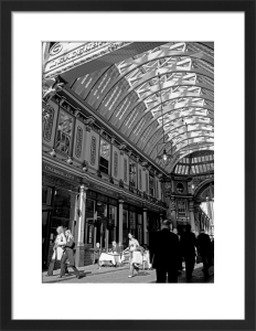 City lunch, Leadenhall Market by Niki Gorick