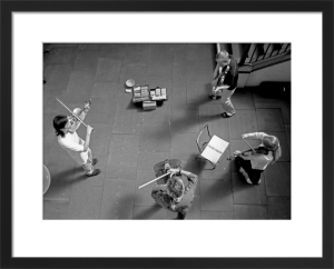 String quartet, Covent Garden by Niki Gorick