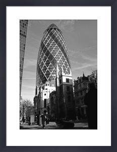 Gherkin traders, City of London by Niki Gorick