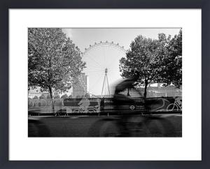 London Eye biker by Niki Gorick