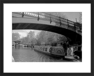 Heading for the Chinese restaurant, Regent's Canal by Niki Gorick