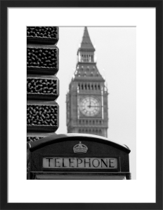 Time to phone, Parliament Square by Niki Gorick