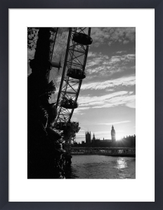 London Eye sunset by Niki Gorick