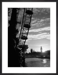 London Eye sunset by Niki Gorick