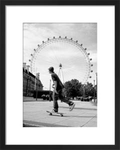 London Eye skater by Niki Gorick