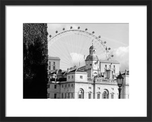 London Eye over Horse Guards Parade by Niki Gorick