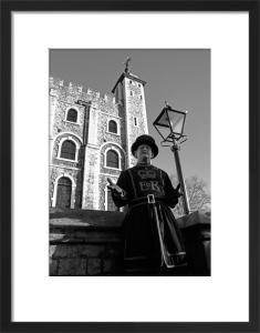 Taking the tour, Tower of London by Niki Gorick