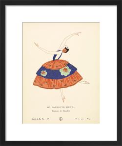 Mme Paulette Duval by Gazette du Bon Ton