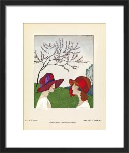The sad winter gives way to spring by Gazette du Bon Ton