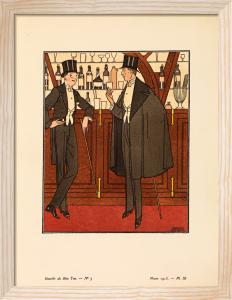 La cape noire by Gazette du Bon Ton