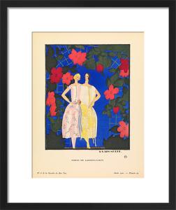 Robes de garden-party by Gazette du Bon Ton