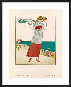 Sur la falaise by Gazette du Bon Ton