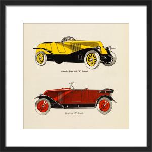 Automobiles Renault by Gazette du Bon Ton