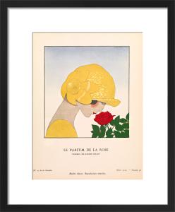 Le parfum de la rose by Gazette du Bon Ton
