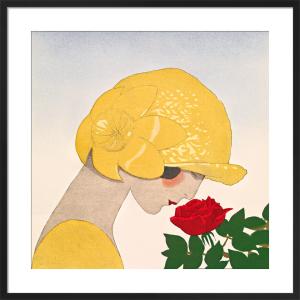 Le parfum de la rose (detail) by Gazette du Bon Ton