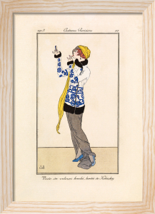 Costumes Parisiens by Gazette du Bon Ton