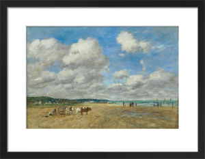 Deauville by Eugene Louis Boudin