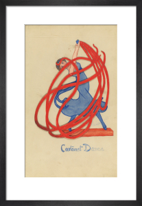 Toy design (Castanet Dance) by Winifred Gill