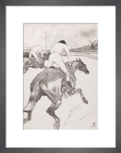 The Jockey by Henri de Toulouse-Lautrec