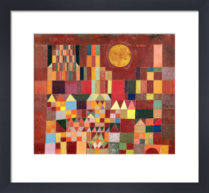 Castle and Sun 1928 by Paul Klee