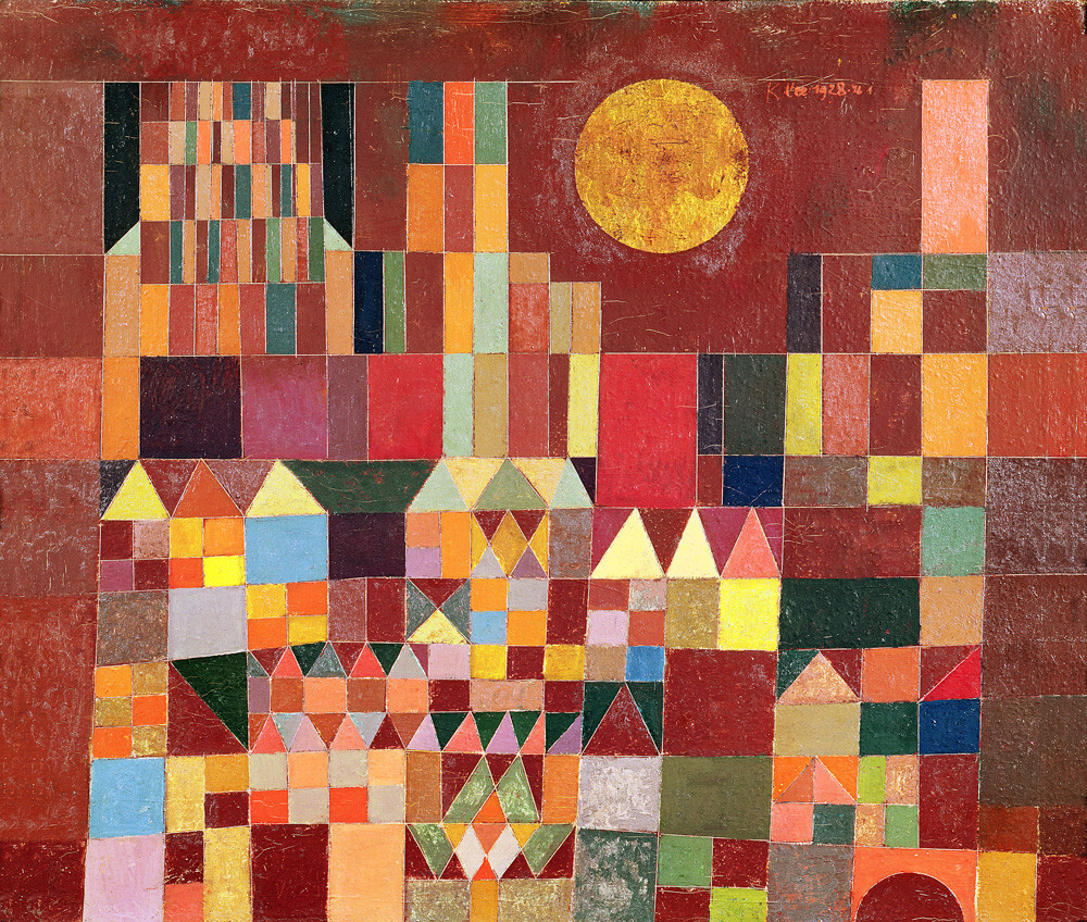 Castle and Sun, 1928 Art Print by Paul Klee | King & McGaw