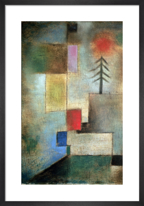 Small Picture of Fir Trees, 1922 by Paul Klee