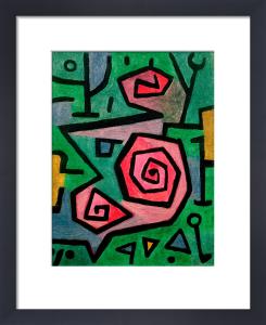 Heroic Roses, 1938 by Paul Klee