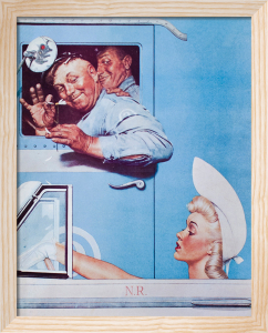 The Flirts by Norman Rockwell