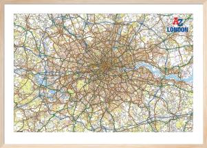 A-Z London Map by Geographers' A-Z Map Company