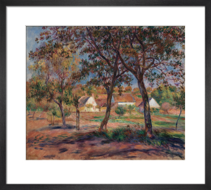 Outskirts of Pont-Aven by Pierre Auguste Renoir