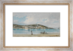 View of Appledore, North Devon, from Instow Sands by Thomas Girtin