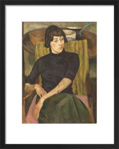 Portrait of Nina Hamnett by Roger Eliot Fry