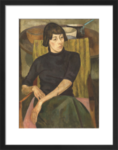 Portrait of Nina Hamnett by Roger Eliot Fry