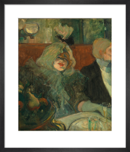 Tete-a-tete supper by Henri de Toulouse-Lautrec