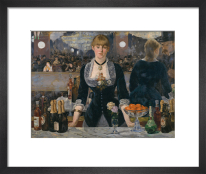 A Bar at the Folies Bergère by Edouard Manet