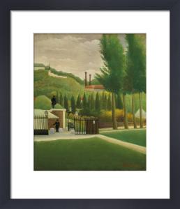 Toll gate by Henri Rousseau