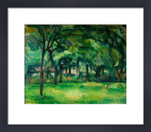 Farm in Normandy Summer (Hattenville) by Paul Cezanne