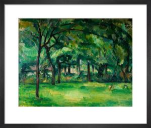 Farm in Normandy Summer (Hattenville) by Paul Cezanne