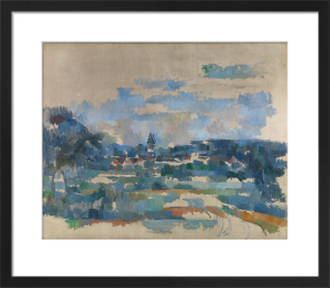 Route tournante by Paul Cezanne