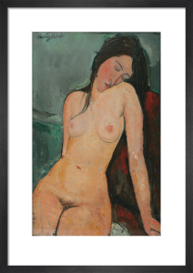 Female nude by Amedeo Modigliani