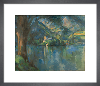 Lac d'Annecy by Paul Cezanne