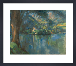 Lac d'Annecy by Paul Cezanne