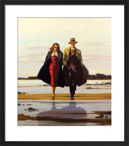 The Road to Nowhere by Jack Vettriano