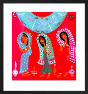 Three Indian Ladies by Christopher Corr