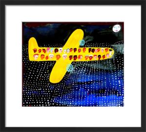 Night Flight over LA by Christopher Corr
